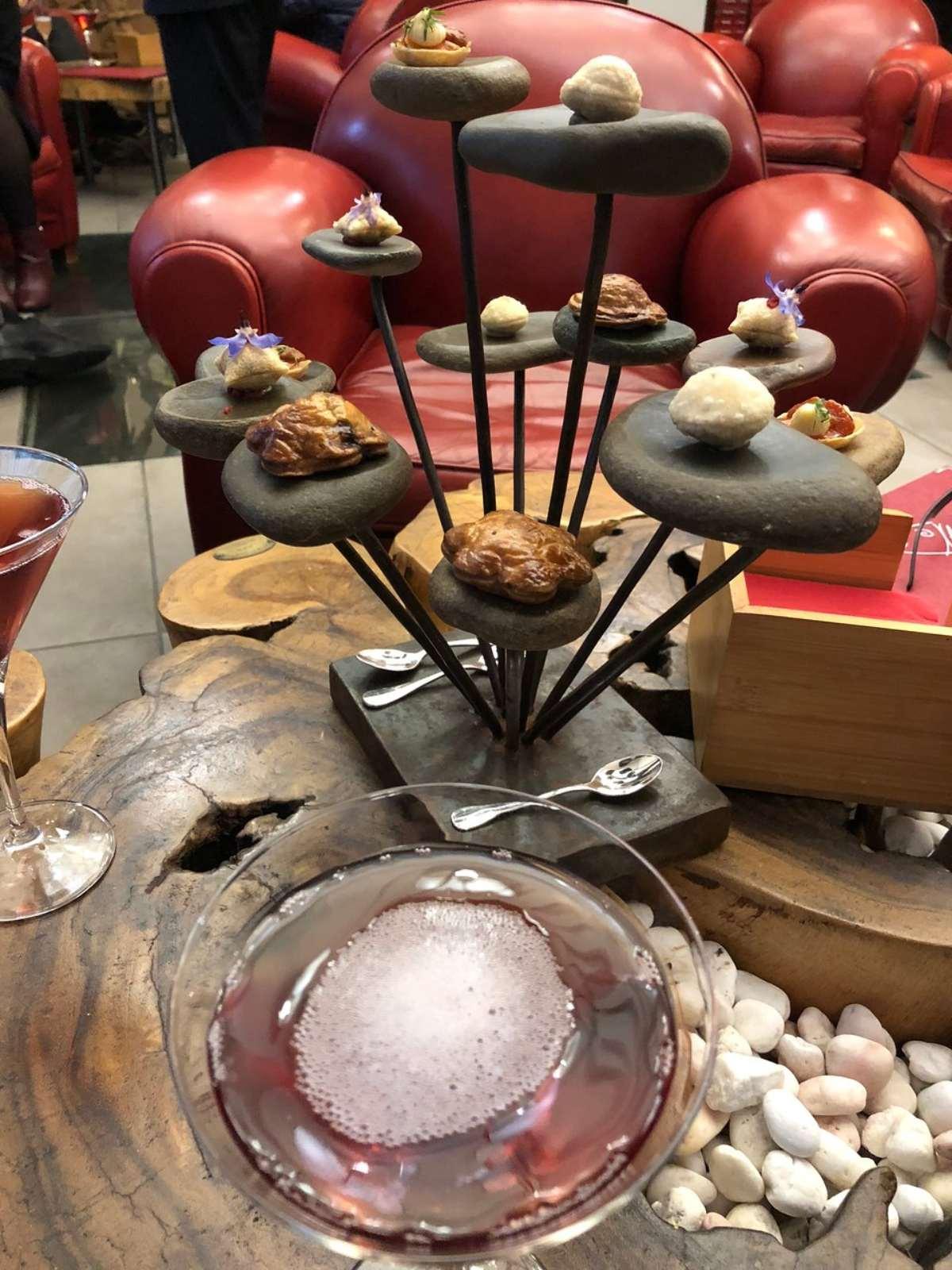 Auberge du Vieux Puits καλύτερο εστιατόριο 2020 παράξενο πιάτο