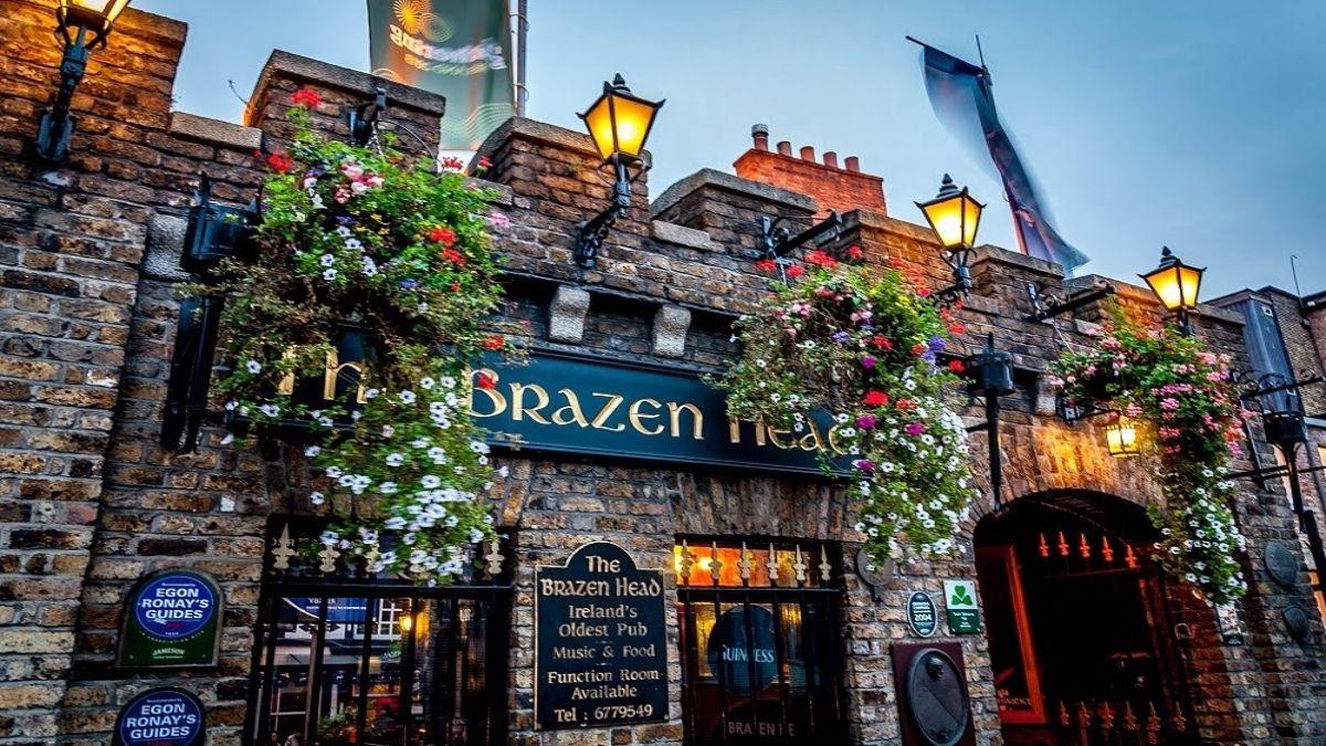 Το ιστορικό the Brazen Head στην Ιρλανδία