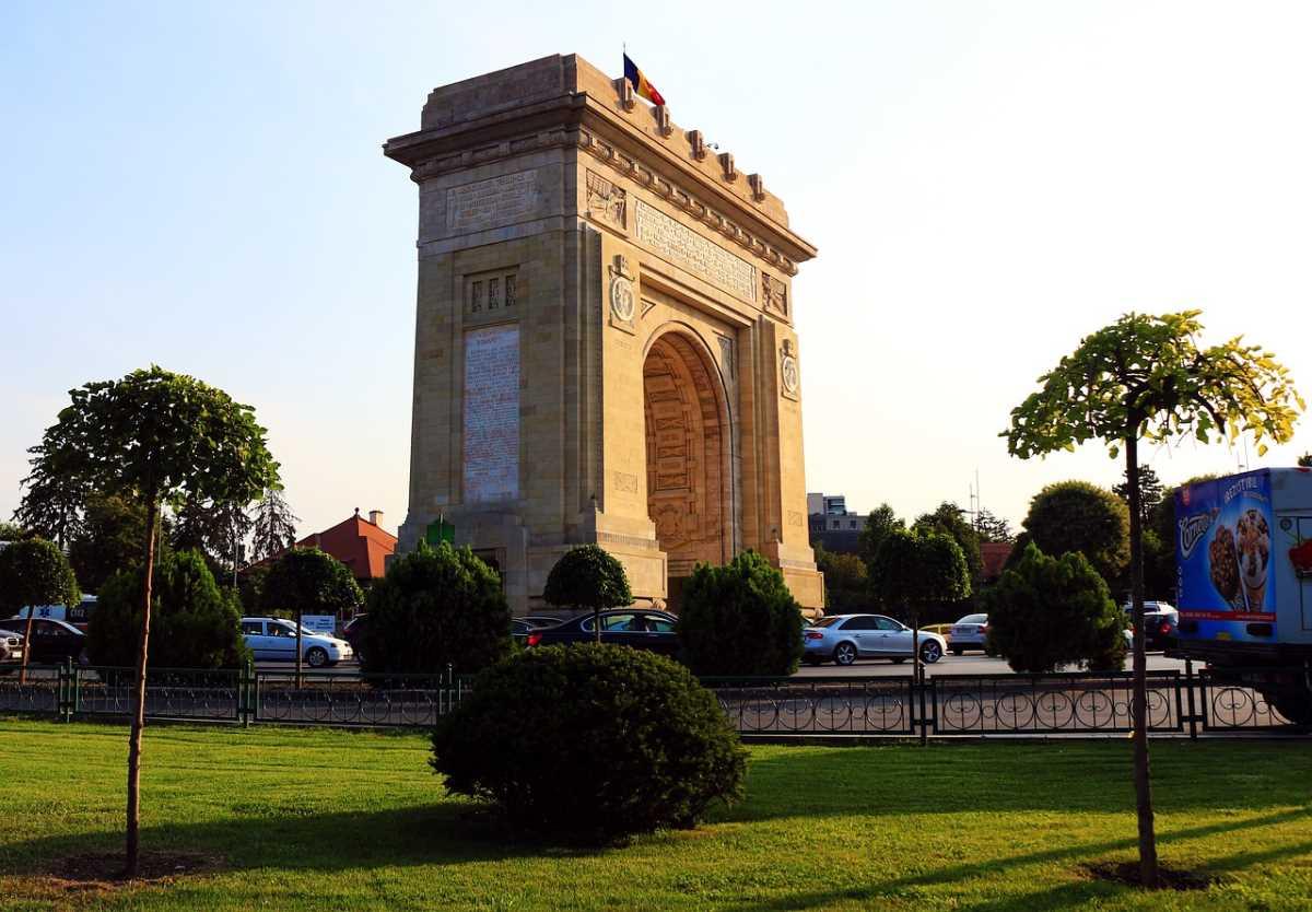 Η ρουμανική Αψίδα του Θριάμβου, Βουκουρέστι