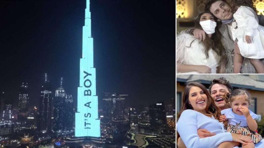 burj halifa οικογένεια Ντουμπάι