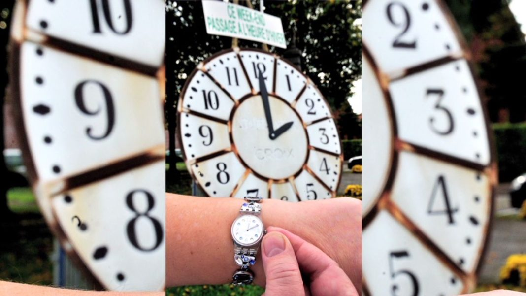 αλλαγή ώρας ρολόγια