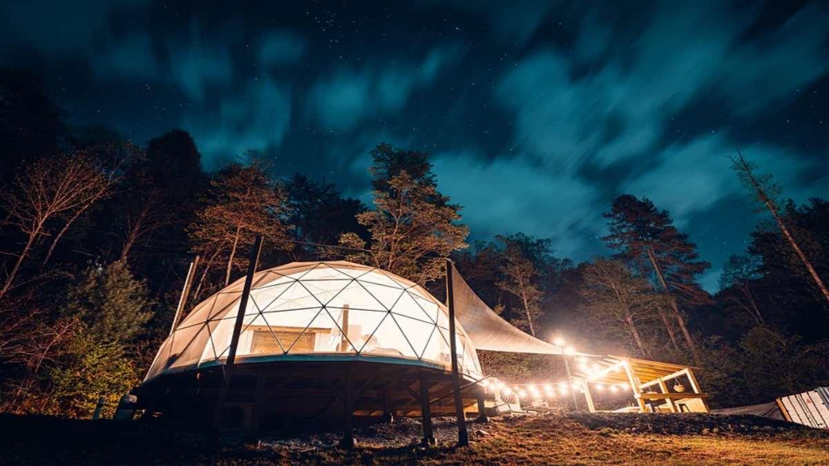 Chimney Rock Glamping Dome, Βόρεια Καρολίνα Airbnb