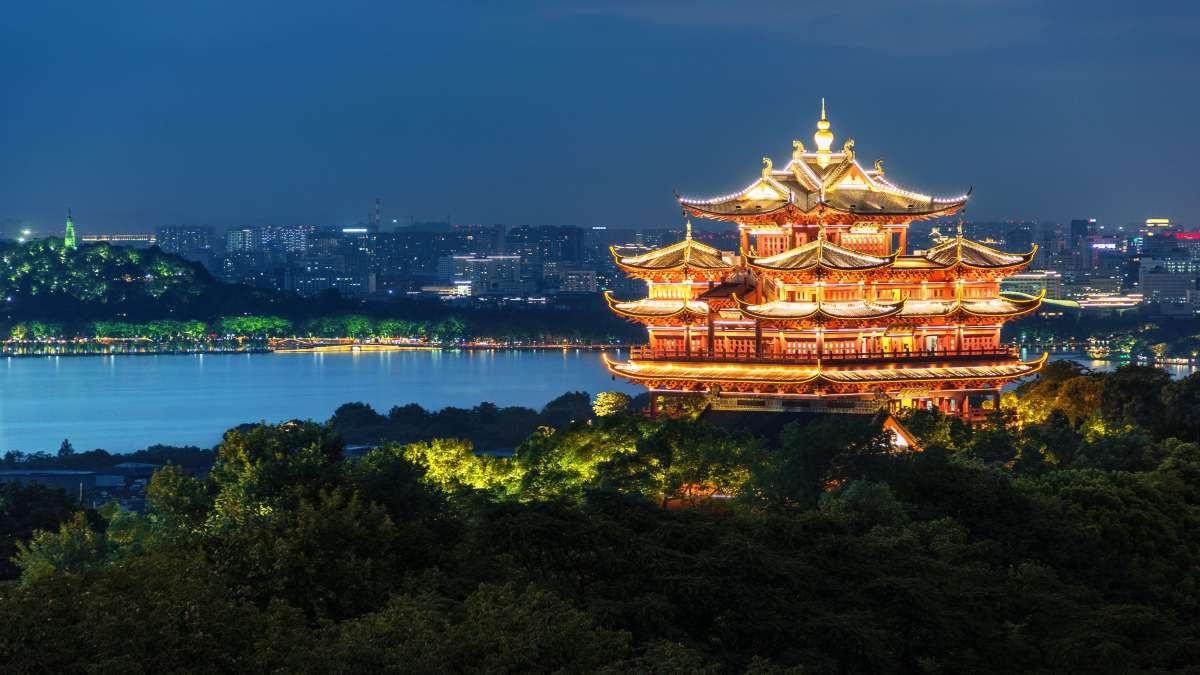 παγόδα στην Κίνα