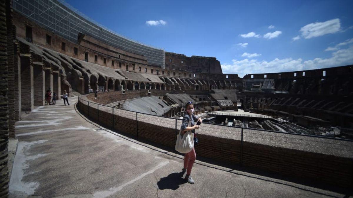 άδειο Κολοσσαίο, Ρώμη