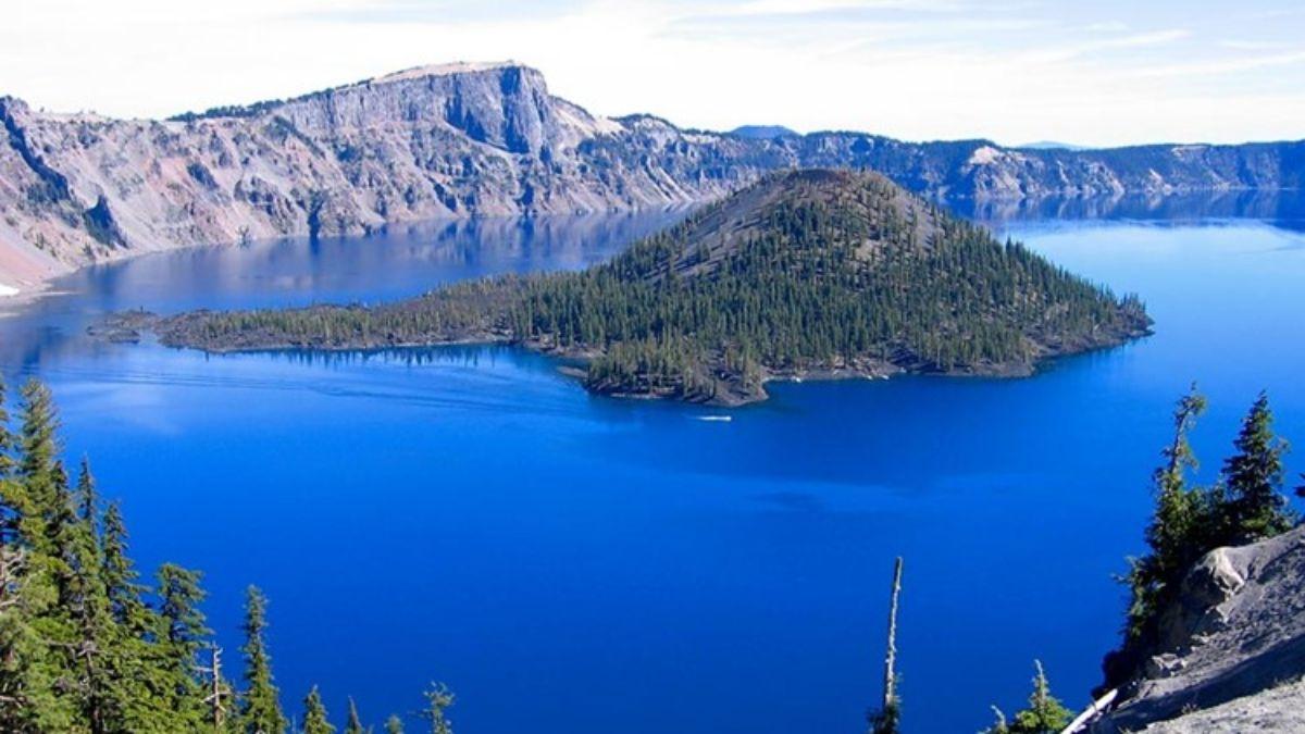 Λίμνη Crater Όρεγκον