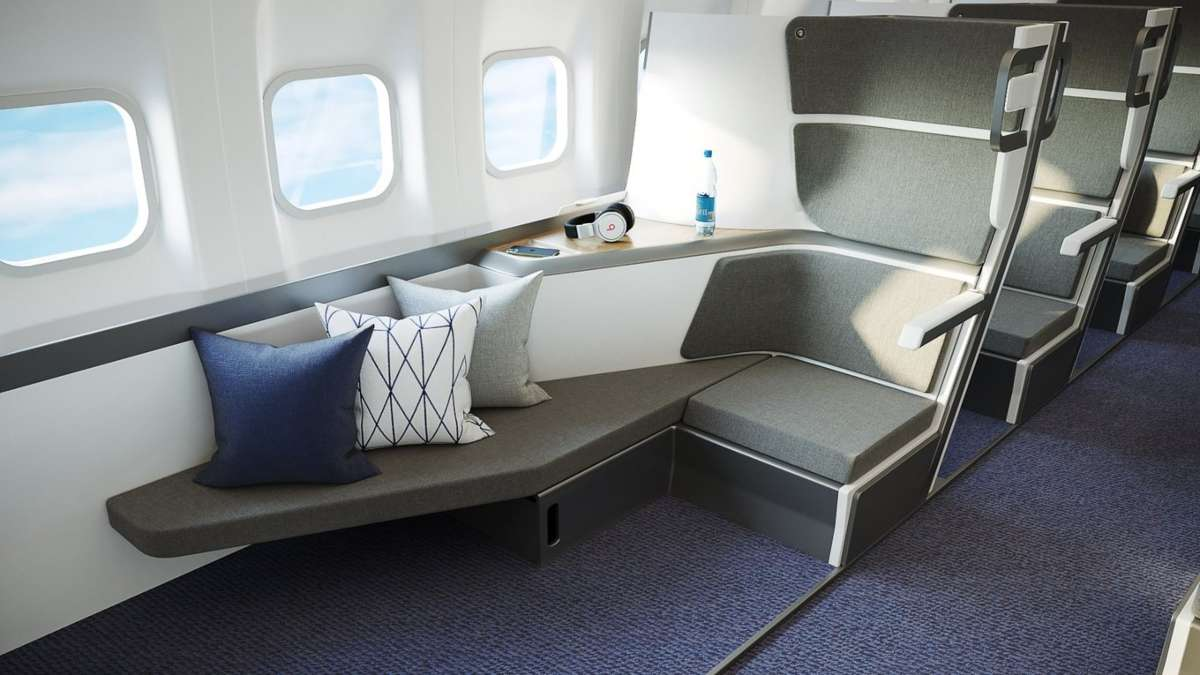 καθίσματα οικονομικής θέσης αεροπλάνο