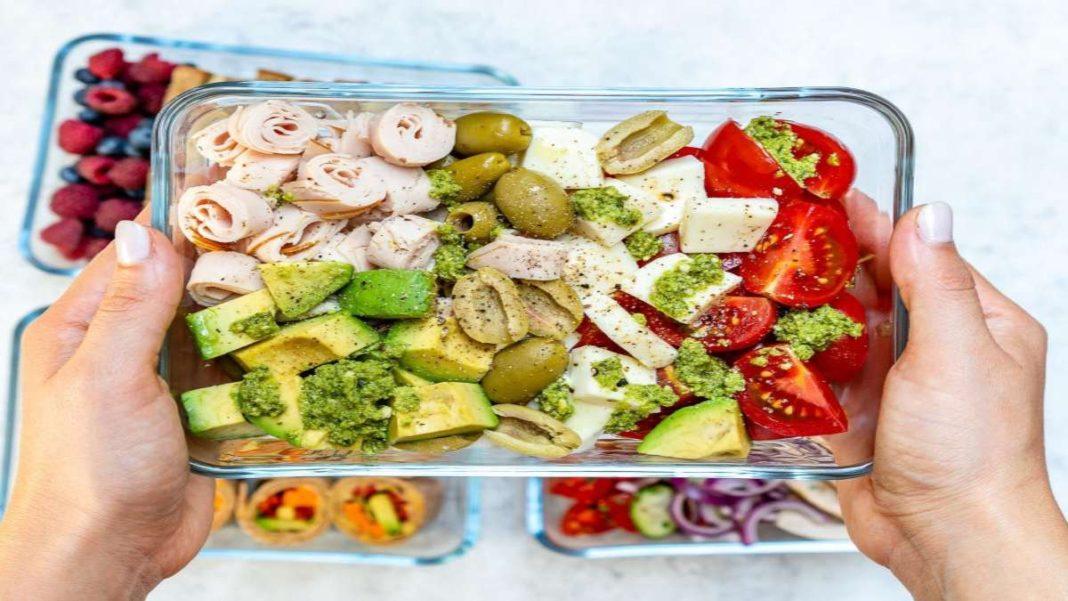 σαλάτα με λαχανικά