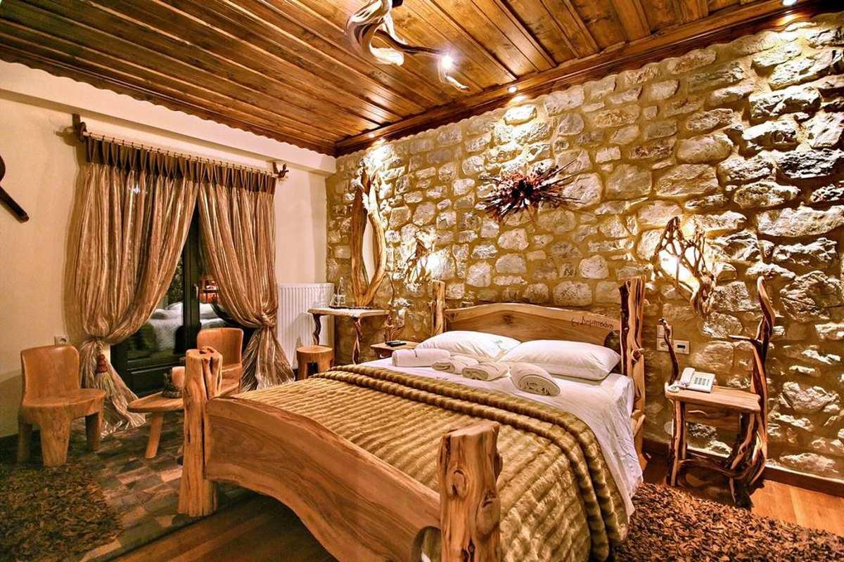 Δωμάτιο στον ξενώνα Εν Δημητσάνι