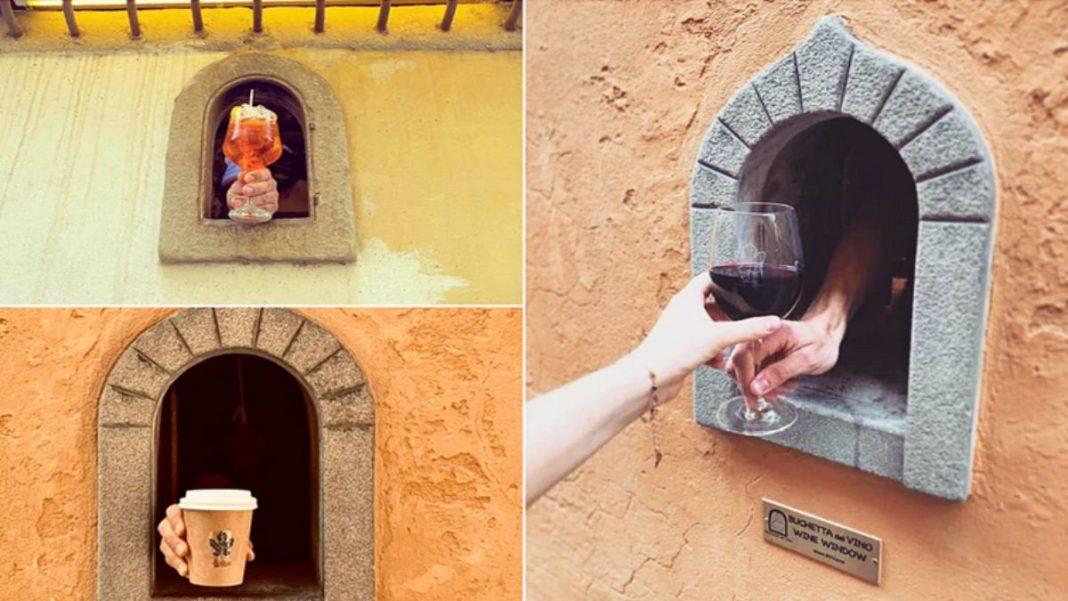 Ιταλία παράθυρα κρασί