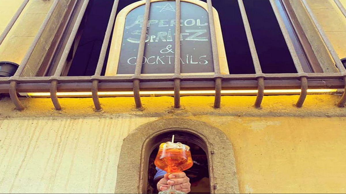 Τοσκάνη παράθυρα κρασιού