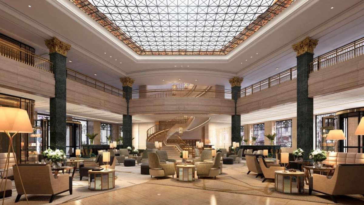 Four Seasons Hotel Μαδρίτη lobby
