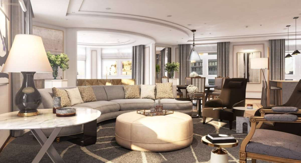Four Seasons Hotel Μαδρίτη σαλόνι