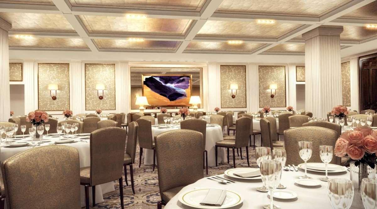 Four Seasons Hotel Μαδρίτη τραπεζαρία