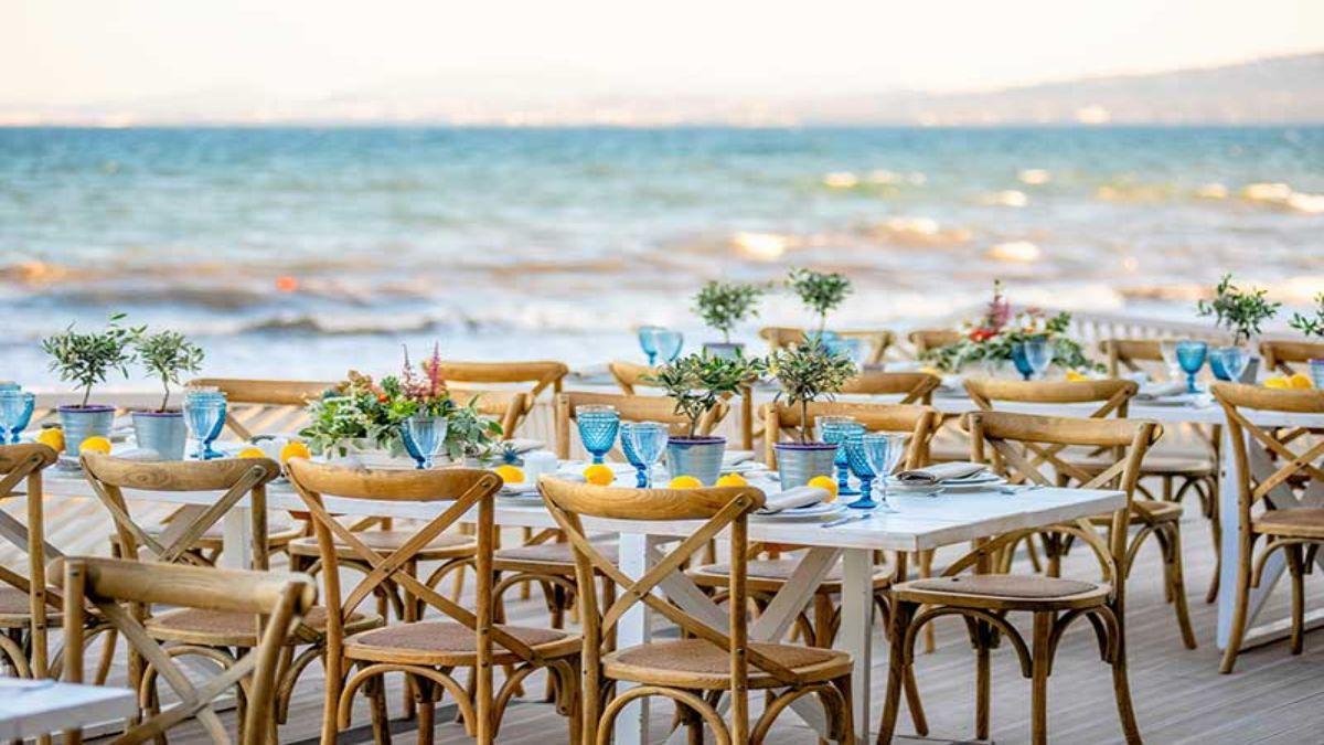 Γάμος στη Γαλάζια Ακτή στο Σχινιά