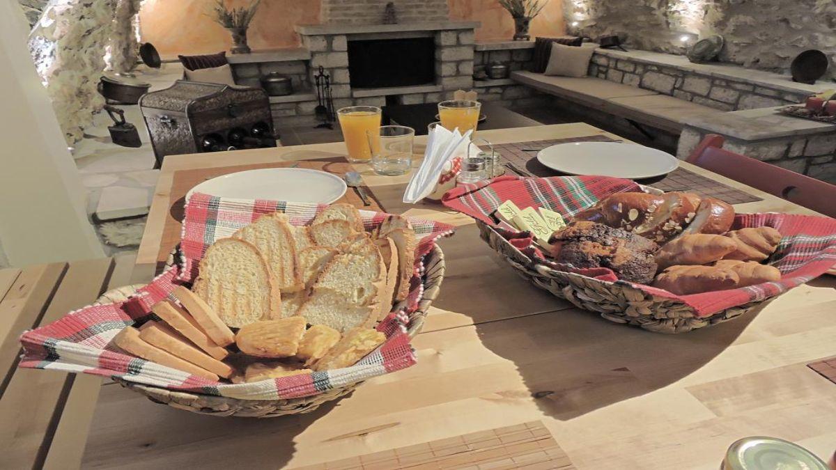 πρωινό στον ξενώνα