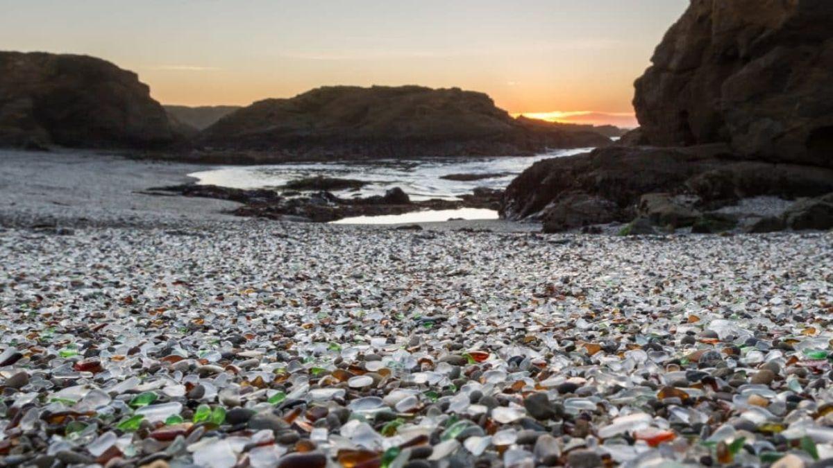 Glass beach, Καλιφόρνια