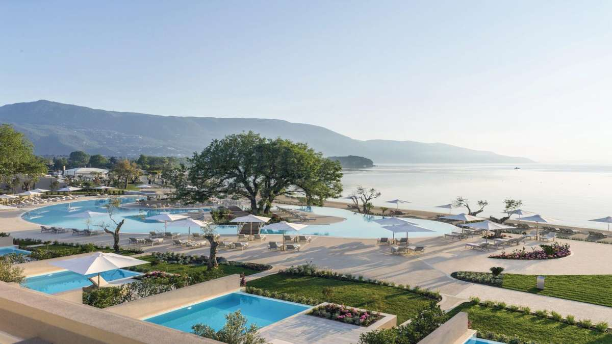 Ikos Dassia Κέρκυρα πισίνα εξωτερική