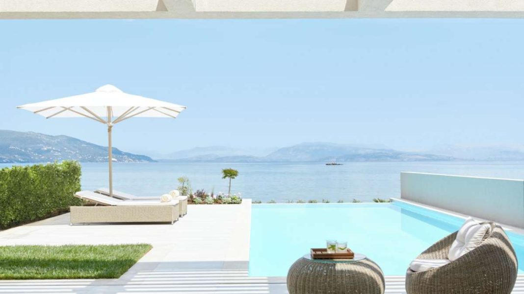 Ikos Dassia Κέρκυρα πισίνα σουίτας