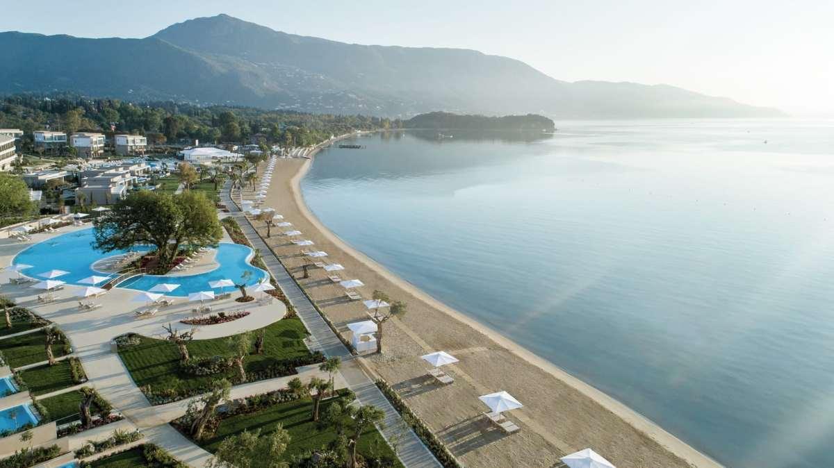 Ikos Dassia Κέρκυρα παραλία