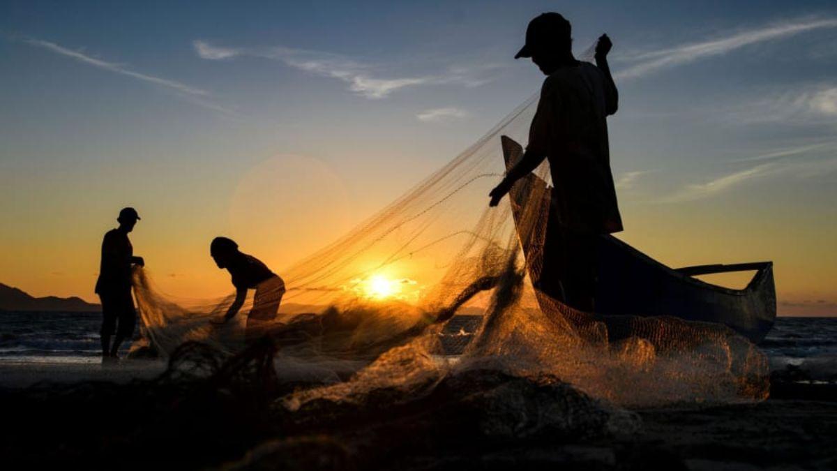 ψαράδες στην Ινδονησία