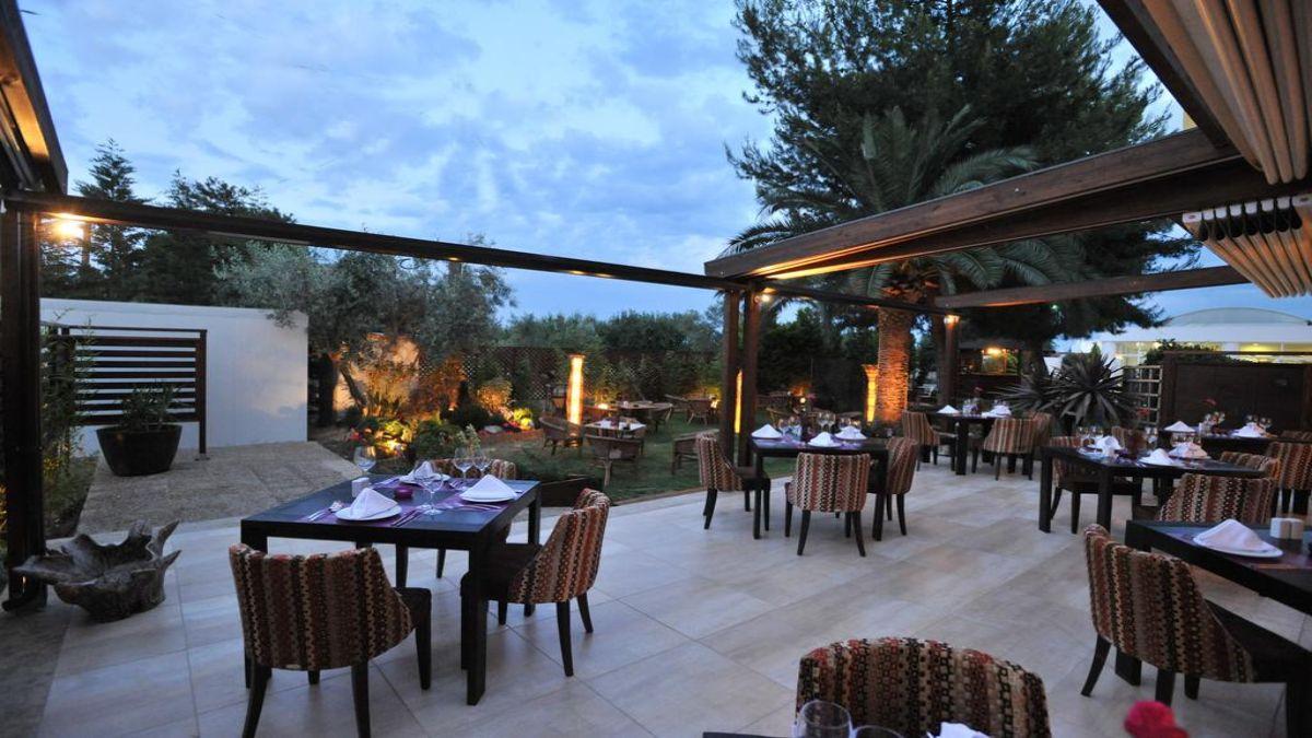 Hotel Kalloni εστιατόριο