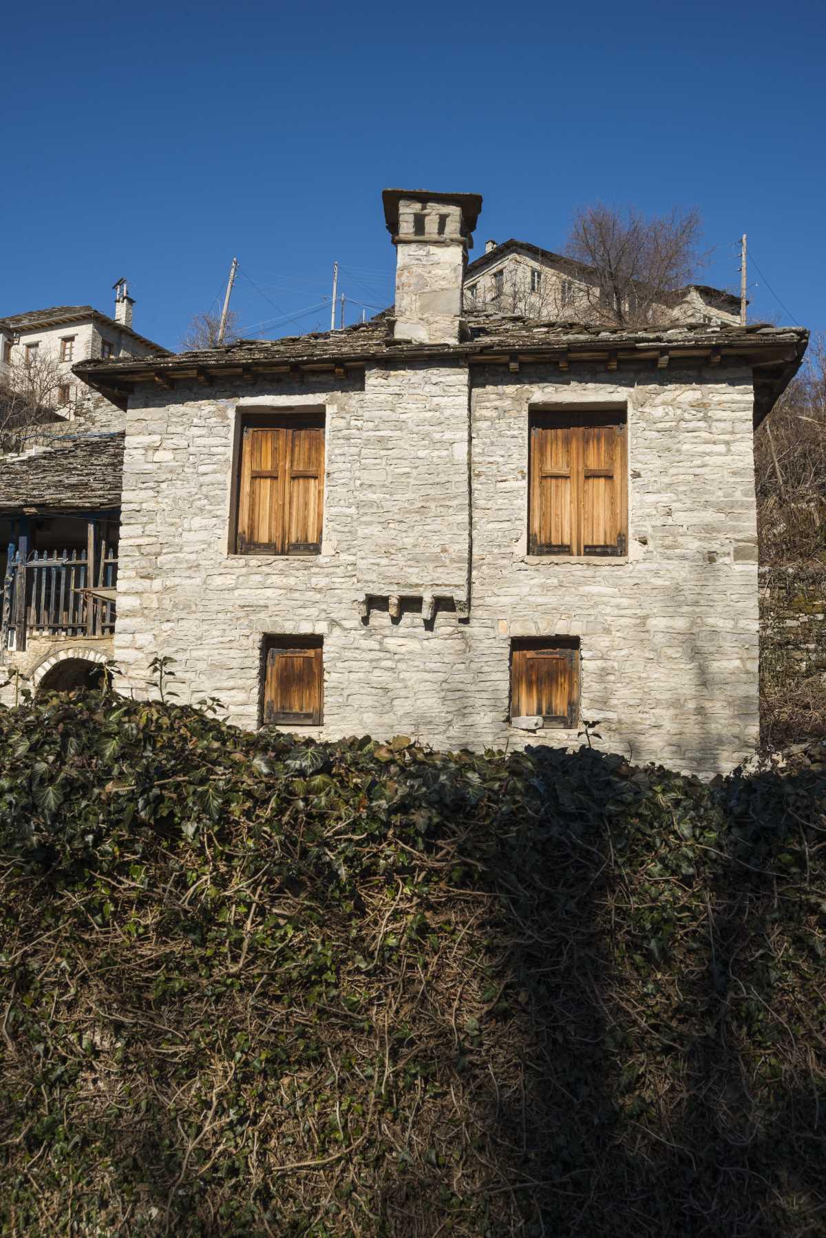 Πετρόκτιστο σπίτι στο Καπέσοβο, Ζαγόρι