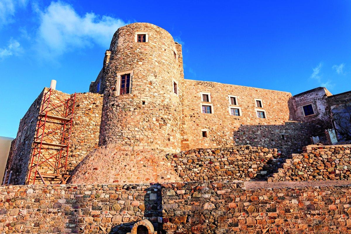Το Κάστρο στη Χώρα της Νάξου