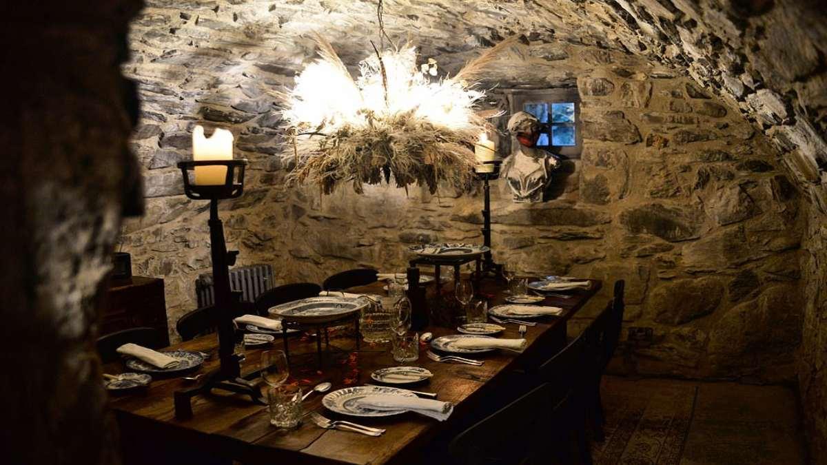 Kilmartin Castle Σκωτία τραπεζαρία