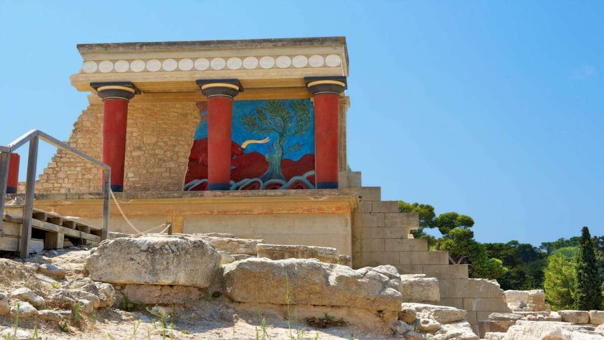 αρχαιολογικός χώρος Κνωσσού Ηράκλειο Κρήτης