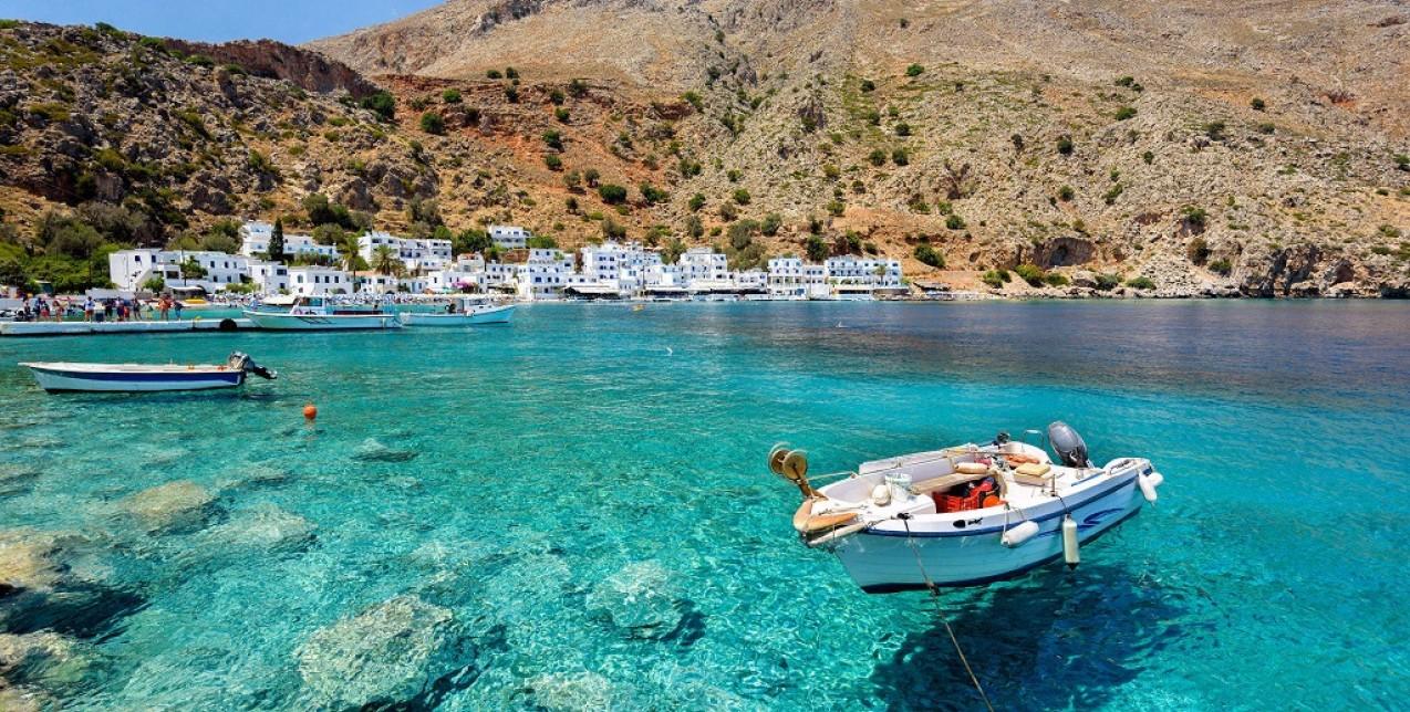Το υπέροχο Λουτρό στην Κρήτη, σε κοντινή απόσταση από τα Χανιά