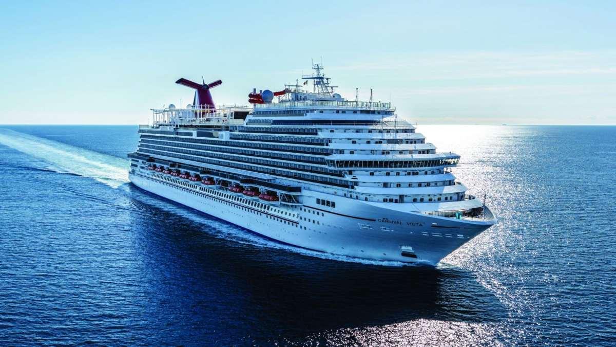 κρουαζιερόπλοιο Carnival Vista στη θαλασσα