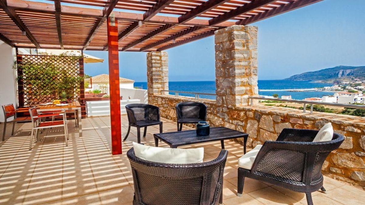 Kythea Resort μπαλκόνι