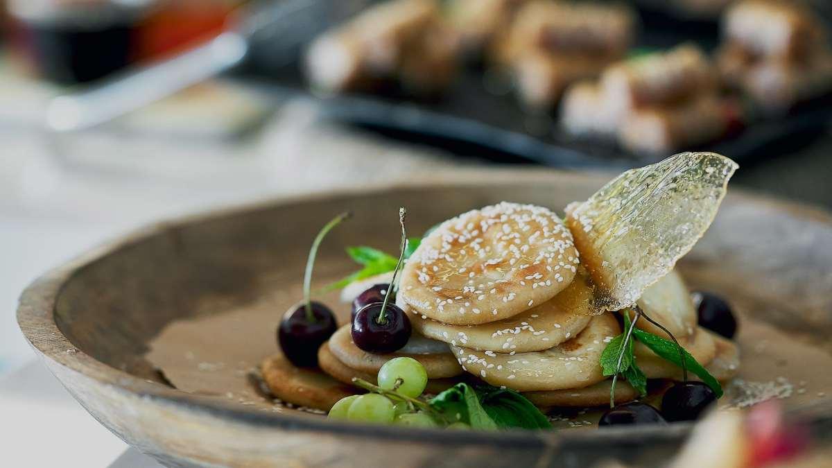 τάσεις γαστρονομία ξενοδοχεία 2021 λεβαντίνικη κουζίνα παράδειγμα πιάτου