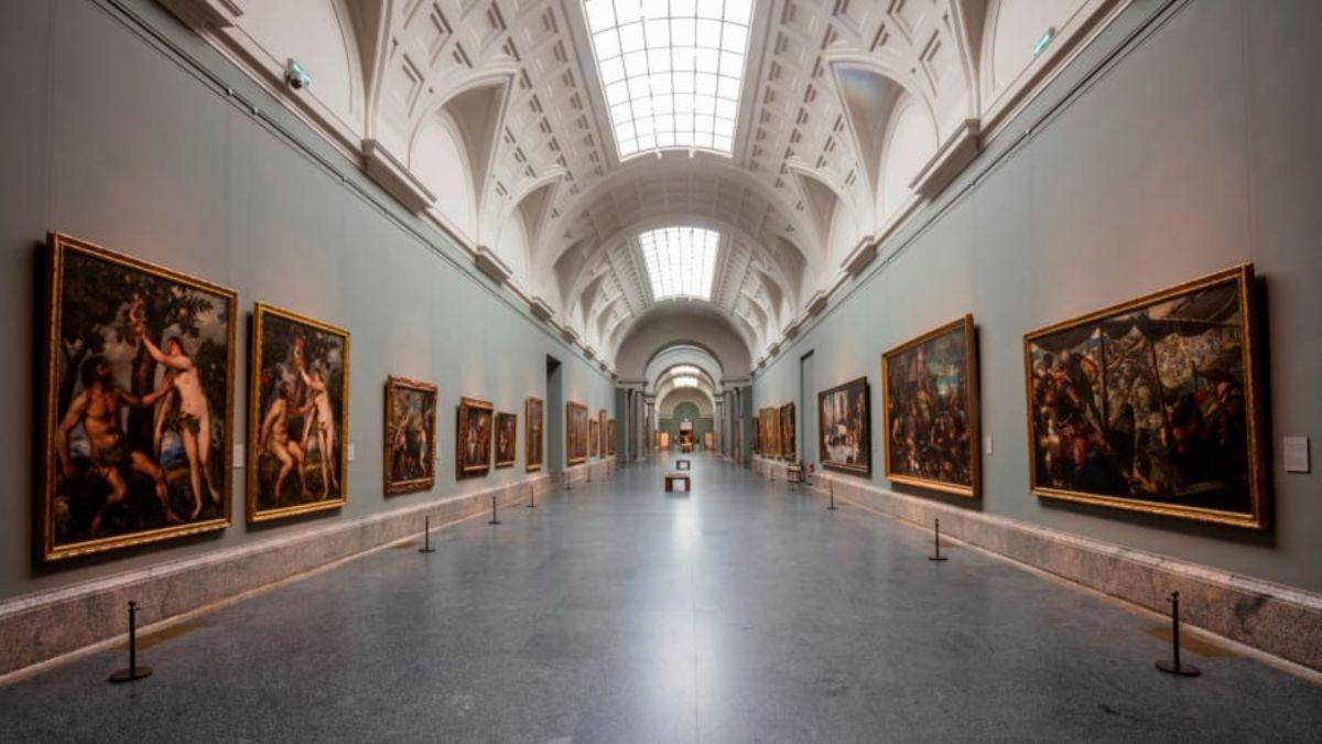 Άδειο το Μουσείο Πραδο στη Μαδρίτη