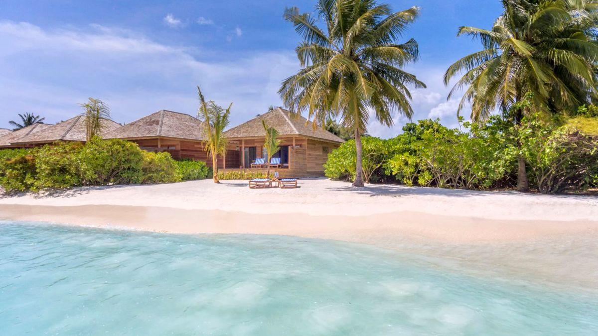 Μαλδίβες ξενοδοχείο παραλία