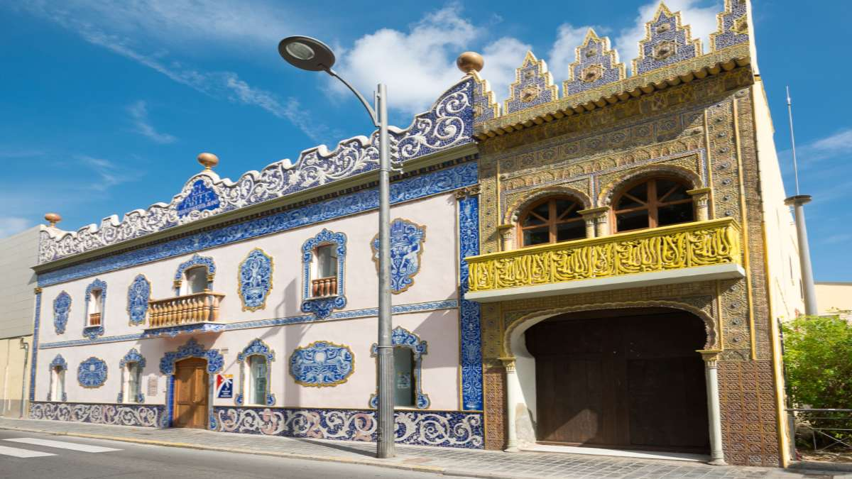 manises Ισπανία παραδοσιακά κτήρια