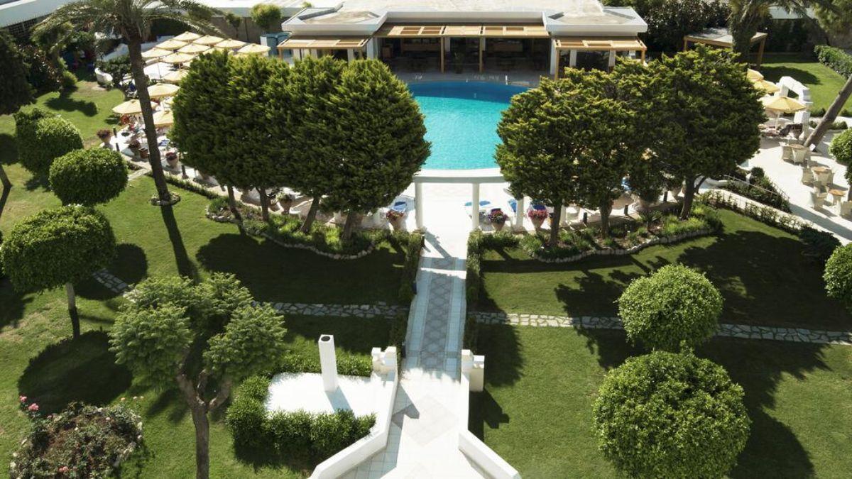 Mitsis Grand Beach Hotel από ψηλά