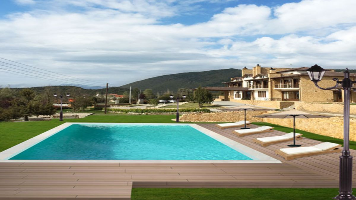 Nymfasia πισίνα