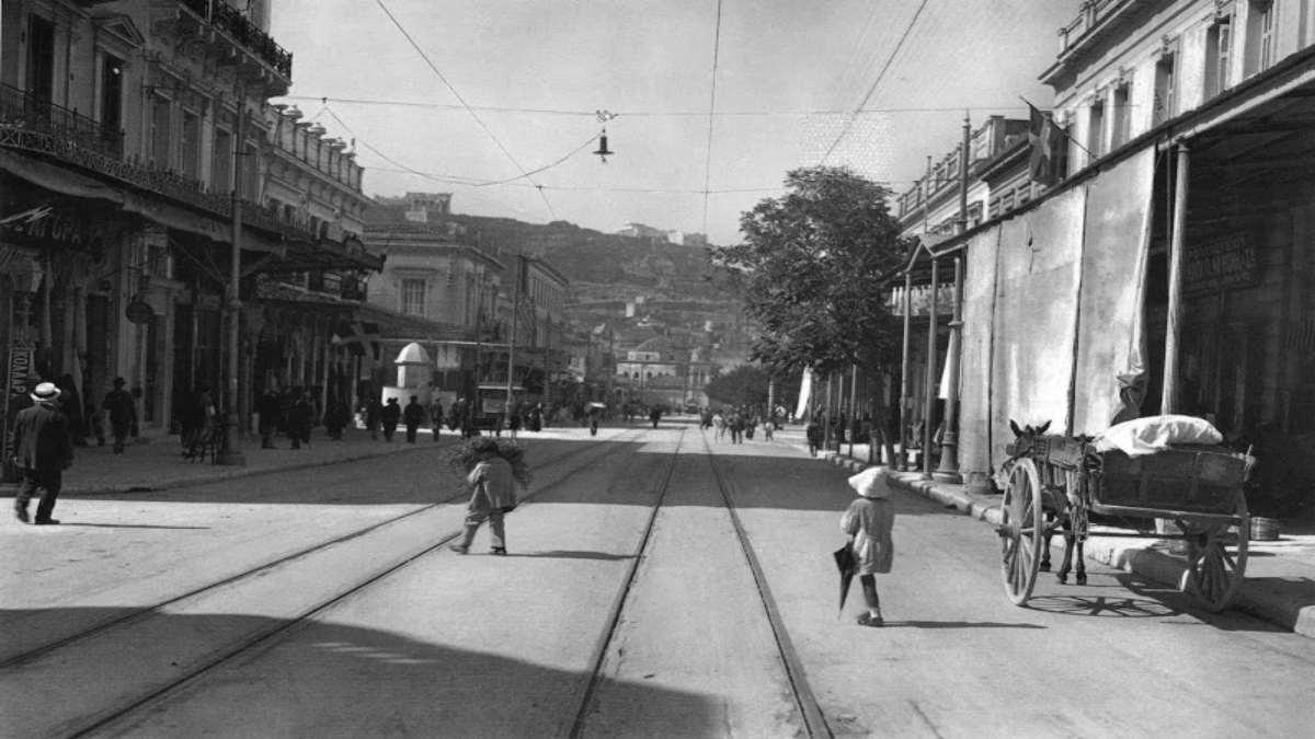 Οδός Αθηνάς 1920 Παλιά Αθήνα