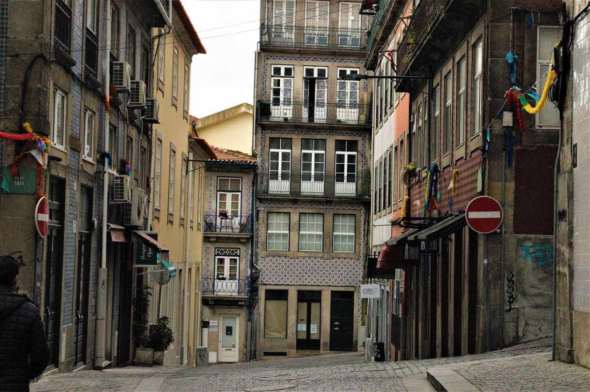 Η παλιά πόλη στο Πόρτο
