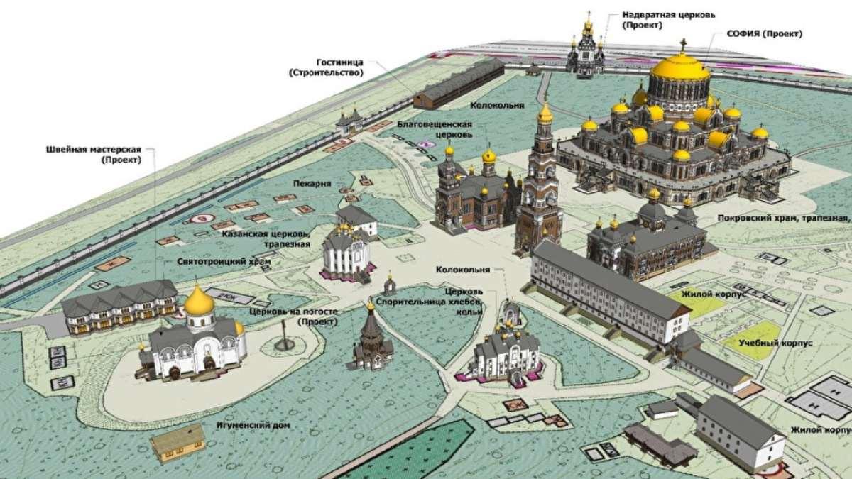 μεγαλύτερη ορθόδοξη εκκλησία Ρωσία περιβάλλων χώρος