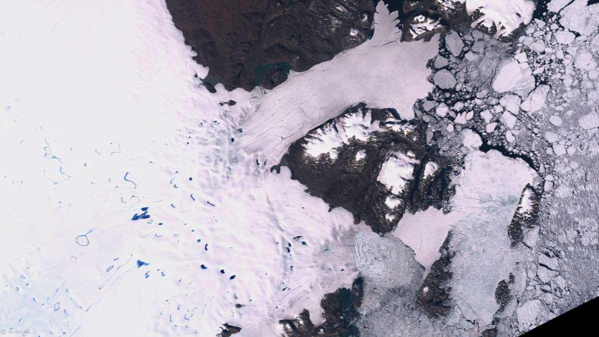 παγετώνας Γροιλανδία