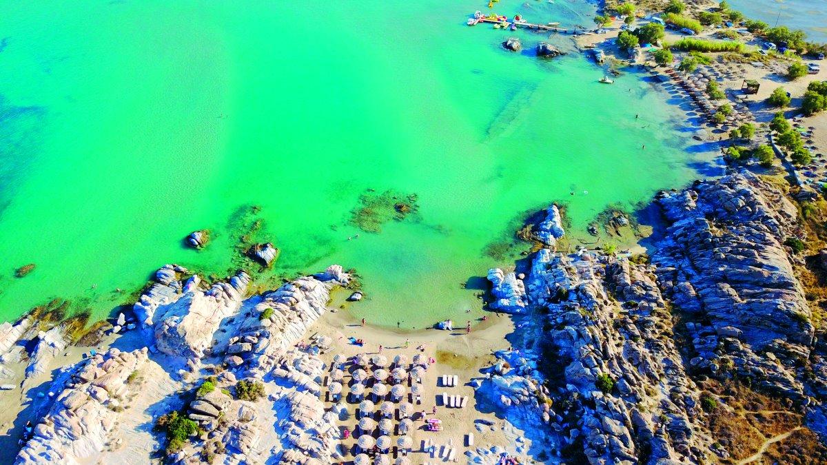 Παραλία Κολυμπήθρες, Πάρος