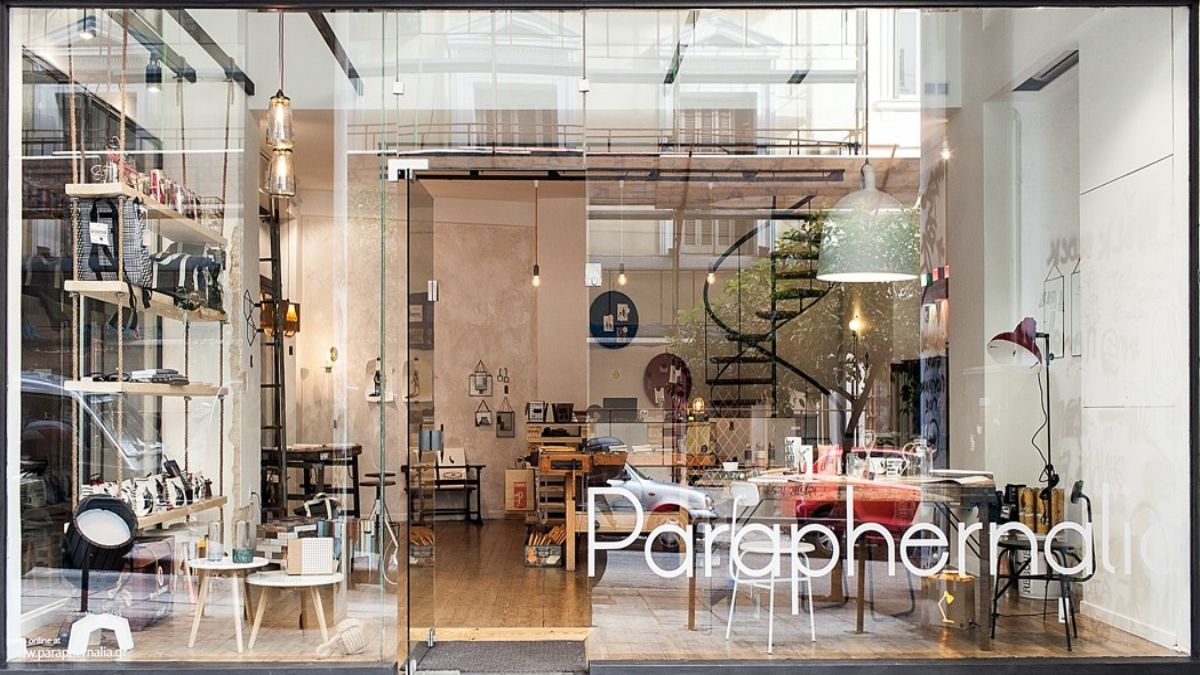 Paraphernalia κατάστημα στην Αθήνα