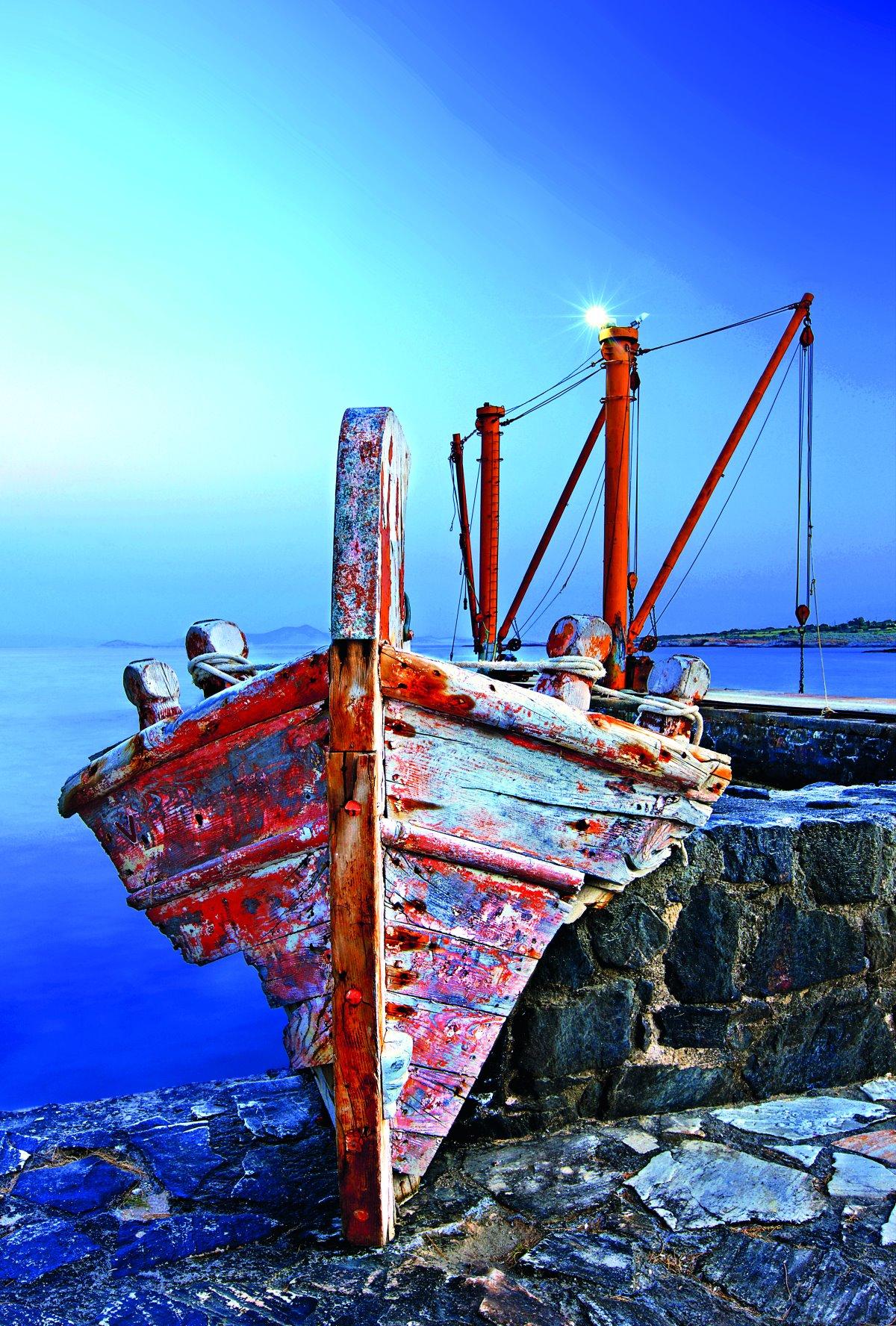 """Στον παραθαλάσσιο οικισμό Μουτσούνα, """"λιμάνι"""" του χωριού Απείρανθος"""