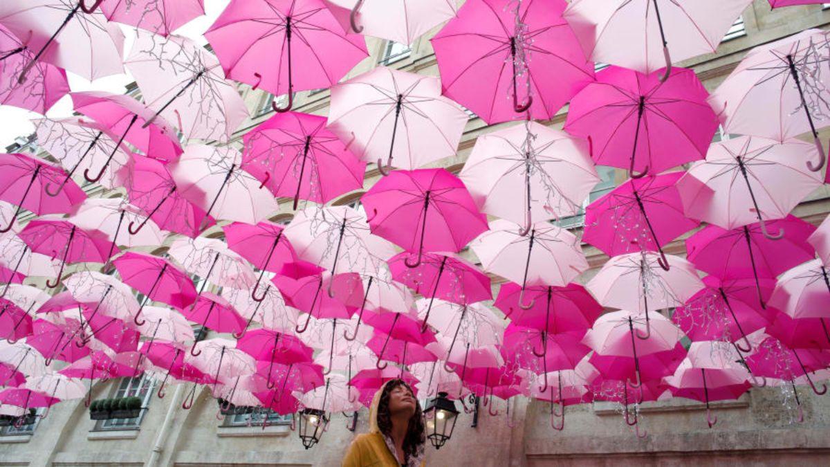 Ομπρέλες, Παρίσι