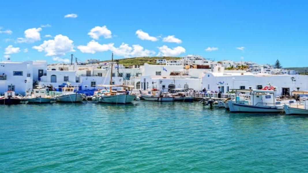 Πάρος καλύτερο νησία Ευρώπης Conde Nast Traveler πανοραμική