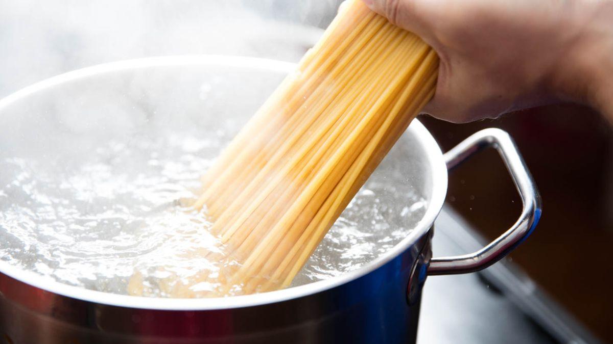 Νερό για βράσιμο ζυμαρικών