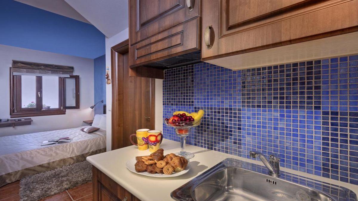 Δωμάτιο με κουζίνα