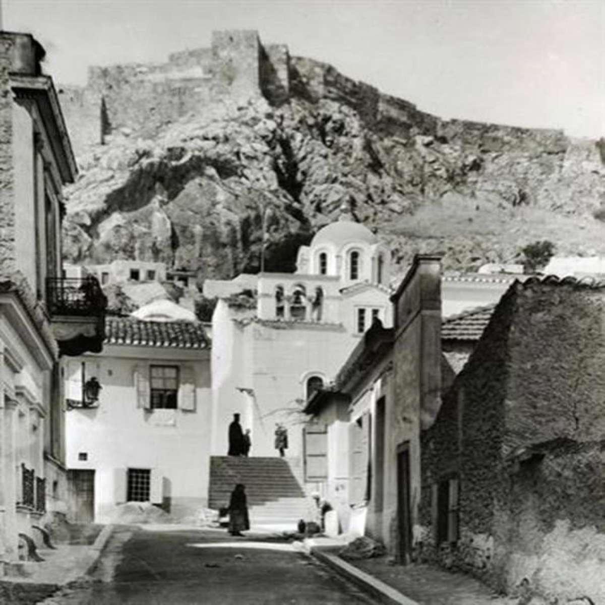 Πλάκα 1917 άγιος Νικόλαος Ραγκαβάς